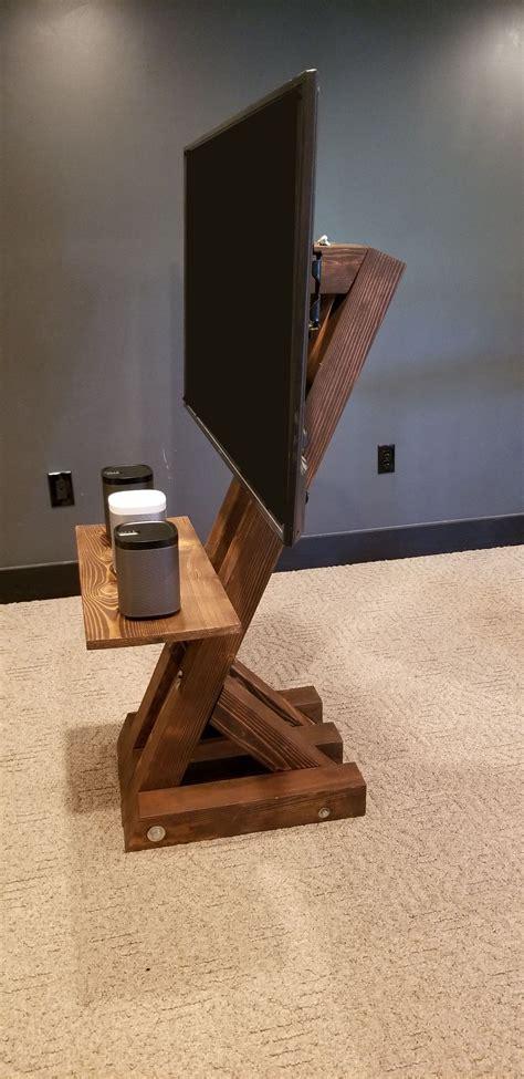 Diy-Floor-Mount-Tv-Stand