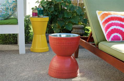 Diy-Flower-Pot-Table