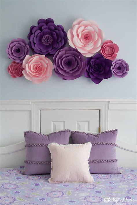 Diy-Flower-Wall-Decor