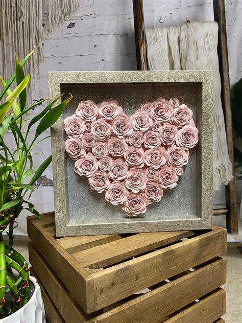 Diy-Flowers-In-Shadow-Box