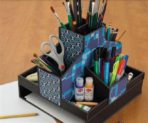 Diy-Foam-Board-Desk-Organizer