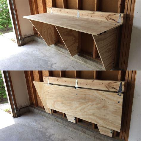 Diy-Fold-Down-Shelf