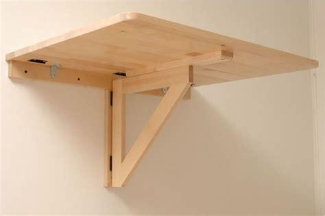 Diy-Fold-Down-Table-Wall-Mounted