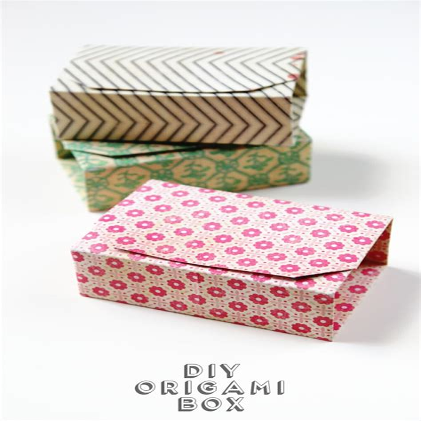 Diy-Folded-Paper-Box