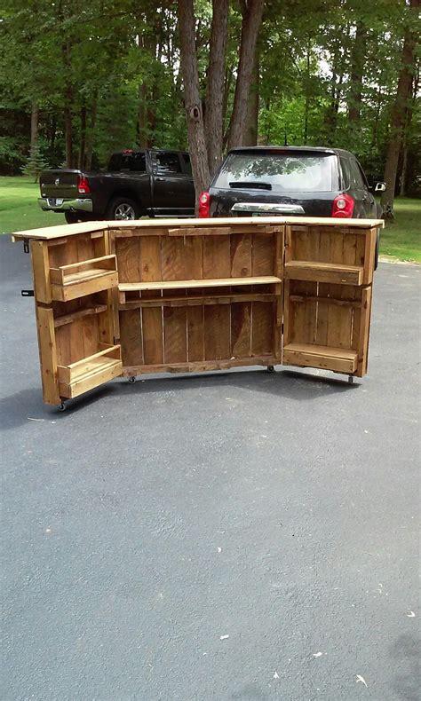 Diy-Folding-Bar-Table