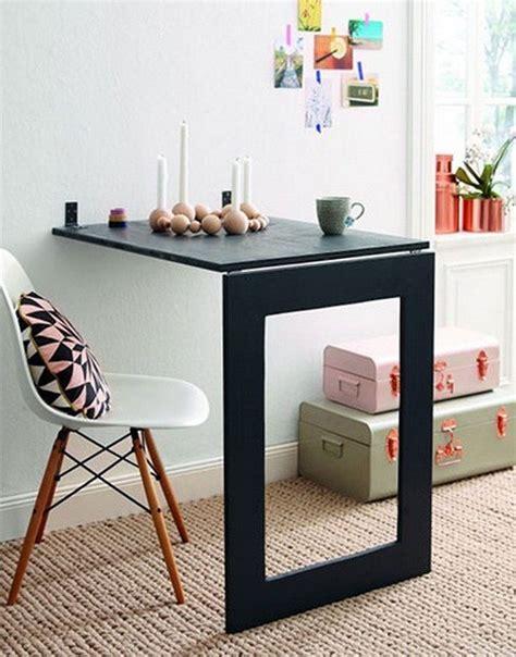 Diy-Folding-Mirror-Table