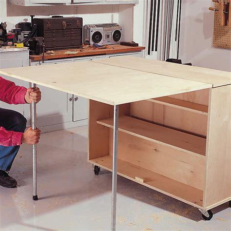 Diy-Folding-Table-Storage