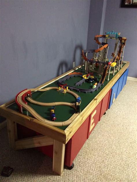 Diy-Folding-Train-Table