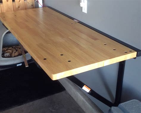 Diy-Folding-Wall-Bench
