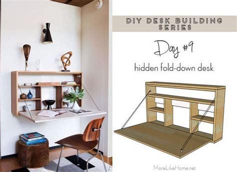 Diy-Folding-Wall-Desk-Plans