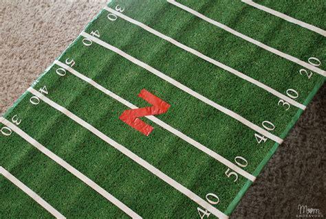 Diy-Football-Field-Table