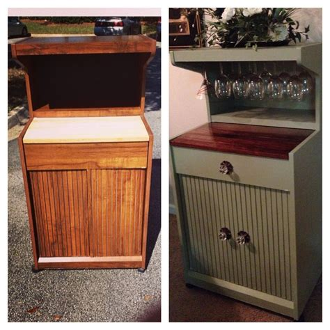 Diy-For-Turning-An-Old-Dresser-Into-A-Microwave-Stand