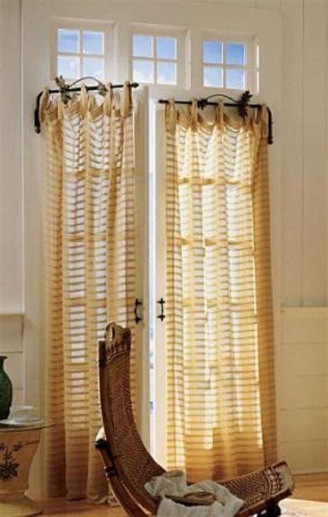 Diy-Frech-Door-Curtain