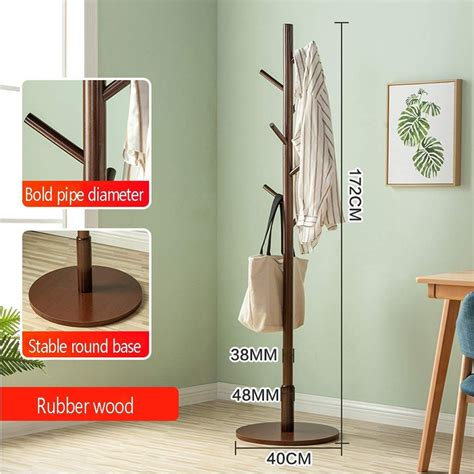 Diy-Free-Standing-Clothing-Rack-Wood