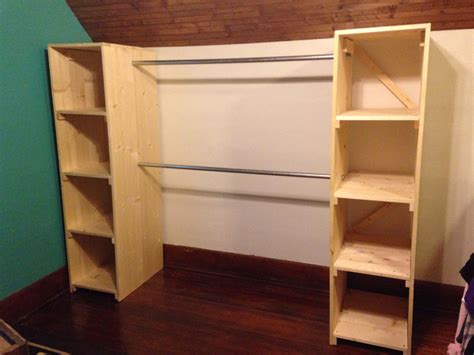 Diy-Freestanding-Closet-Shelves