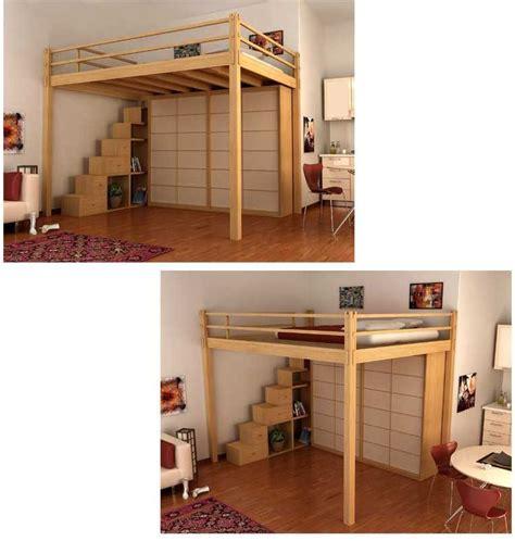 Diy-Freestanding-Loft-Bed