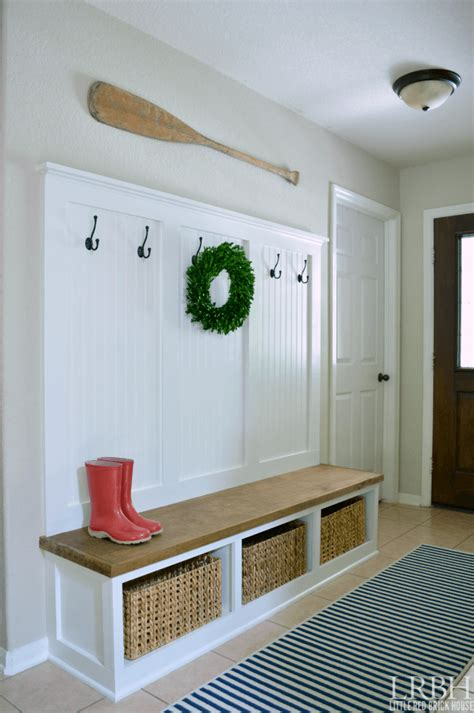 Diy-Front-Hall-Bench