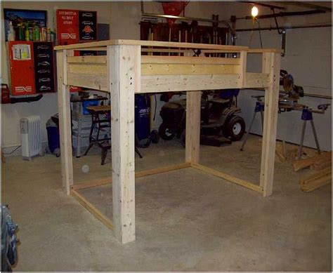 Diy-Full-Loft-Bed-Plans