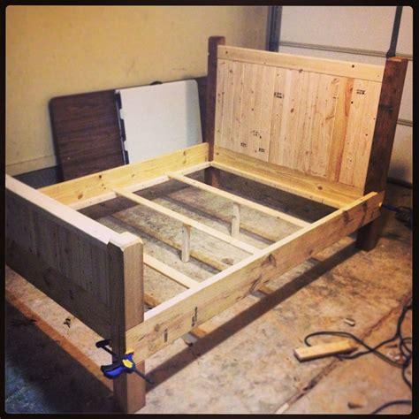 Diy-Full-Size-Wood-Bed-Frame
