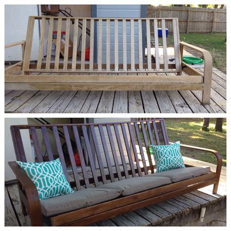 Diy-Futon-Bench