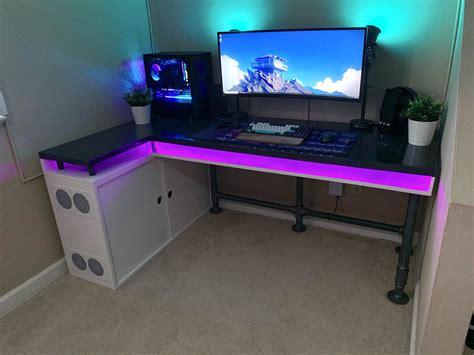 Diy-Gamer-Desk-Package