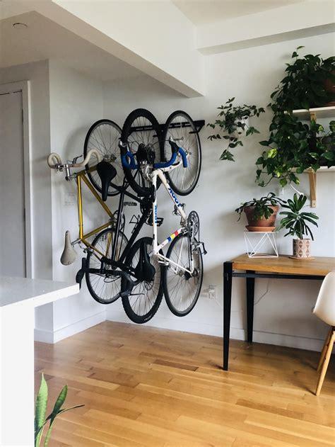 Diy-Garage-Wall-Bike-Rack