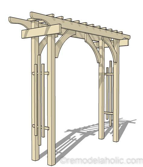 Diy-Garden-Arch-Plans
