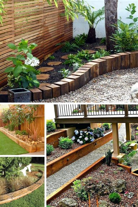 Diy-Garden-Edging-Wood