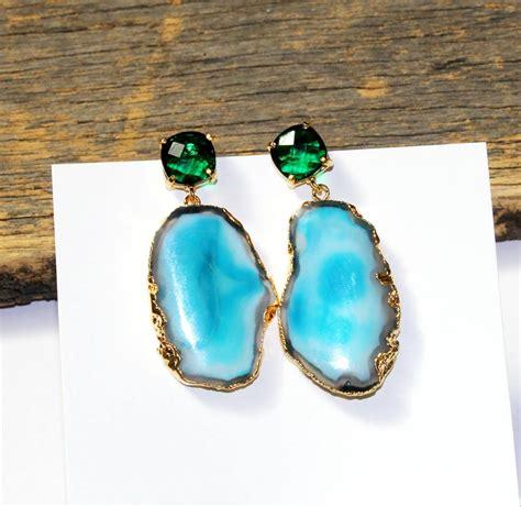 Diy-Gemstone-Earrings