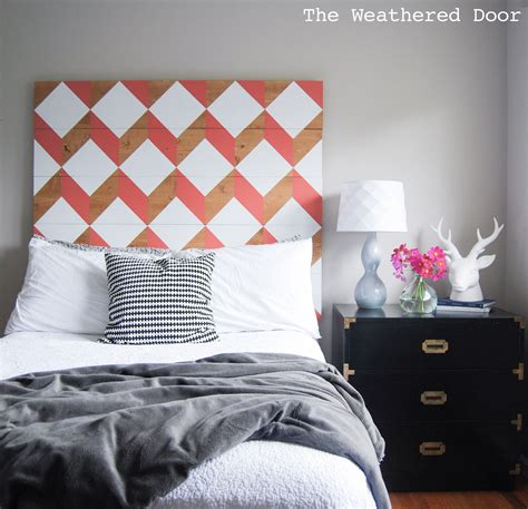 Diy-Geometric-Wood-Bed