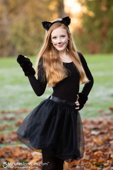 Diy-Girls-Cat-Costume