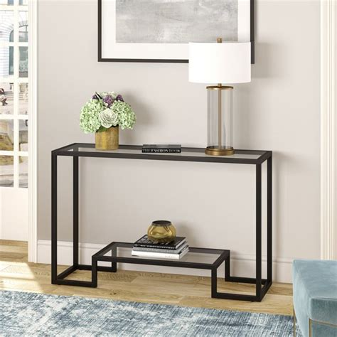 Diy-Glass-Console-Table