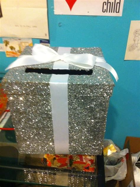 Diy-Glitter-Card-Box