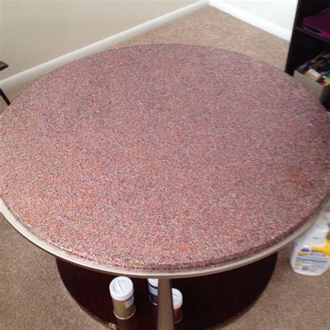 Diy-Glitter-End-Table