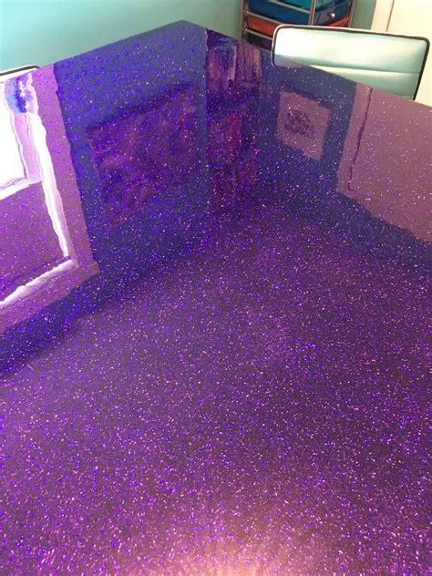 Diy-Glitter-Epoxy-Table
