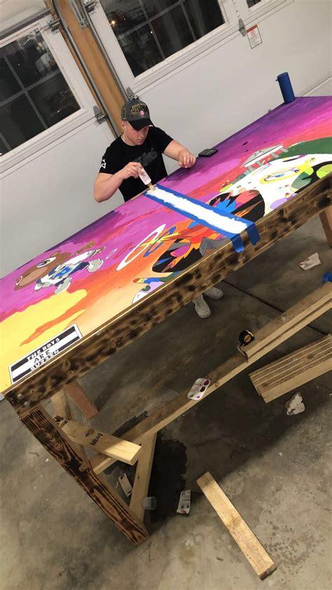 Diy-Glow-Beer-Die-Table
