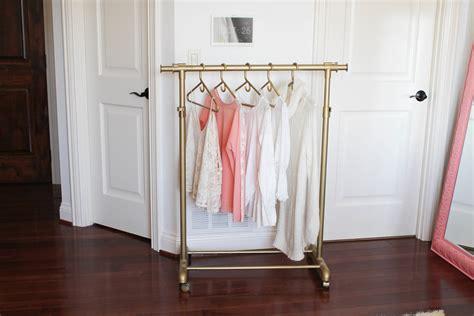 Diy-Gold-Clothing-Rack