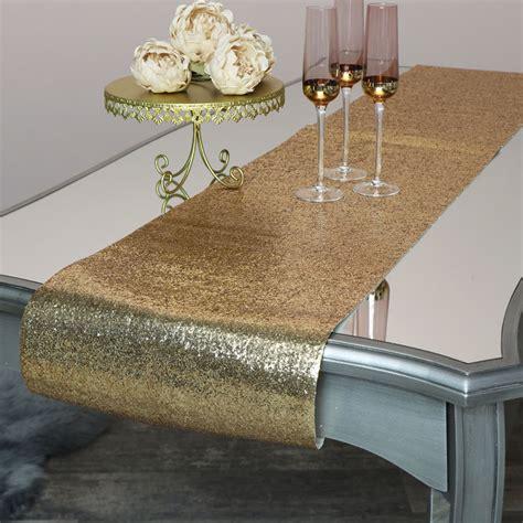 Diy-Gold-Glitter-Table-Runner