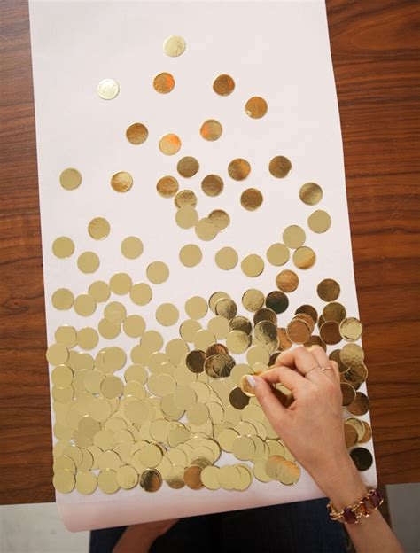 Diy-Gold-Table-Runners