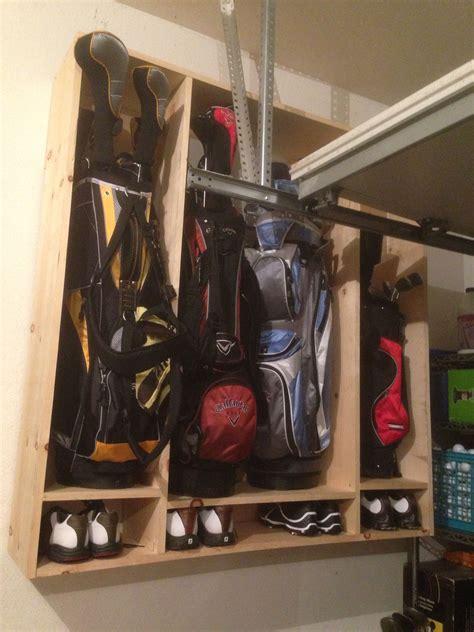 Diy-Golf-Bag-Rack