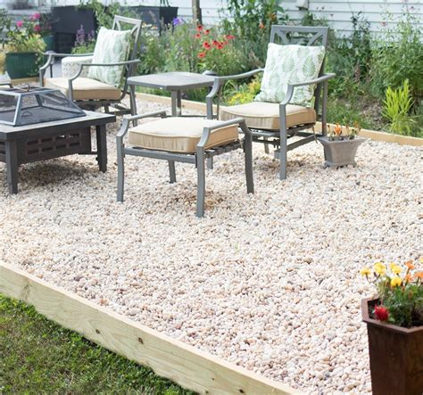 Diy-Gravel-Stone-Patio