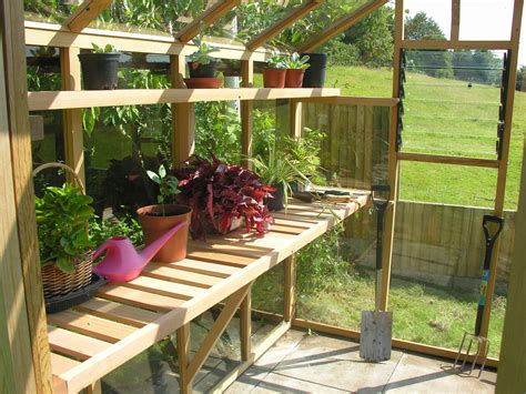 Diy-Greenhouse-With-Storage-Shelf