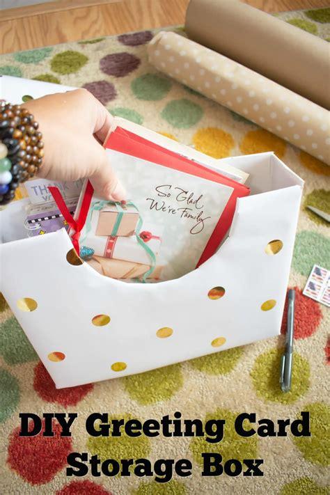 Diy-Greeting-Card-Storage-Box