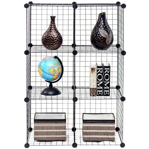 Diy-Grid-Bookshelf