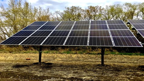 Diy-Ground-Mount-Solar-Panel-Rack