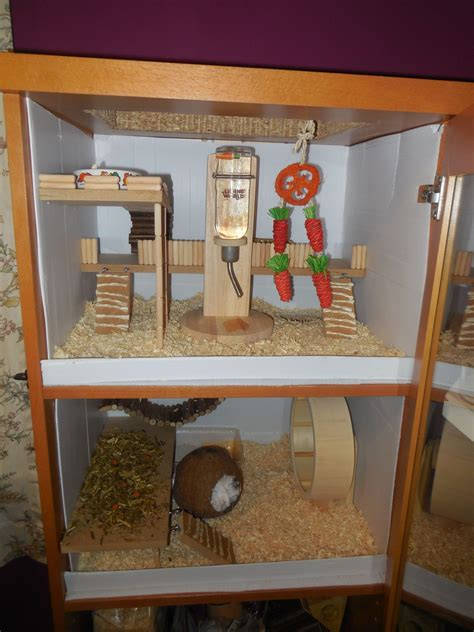 Diy-Guinea-Pig-Cage-Made-Out-Of-Cabinet