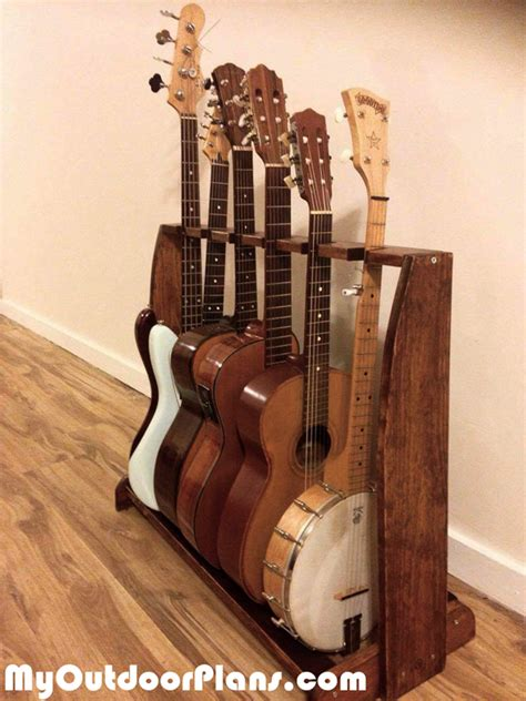 Diy-Guitar-Rack-Wood-Plans