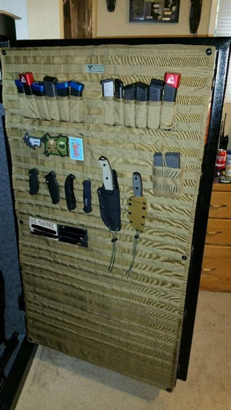 Diy-Gun-Safe-Door-Panel-Organizer