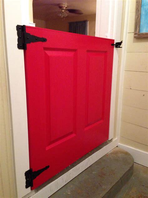 Diy-Half-Door-Gate