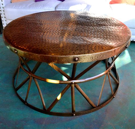 Diy-Hammered-Copper-Table-Top